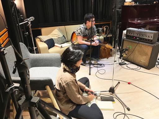 錄音室畫面